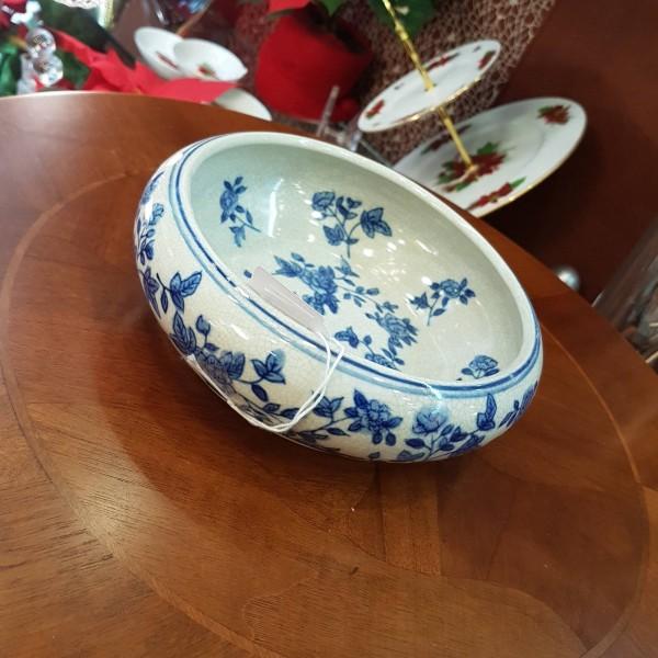 Crakle blue porcelain κουπ