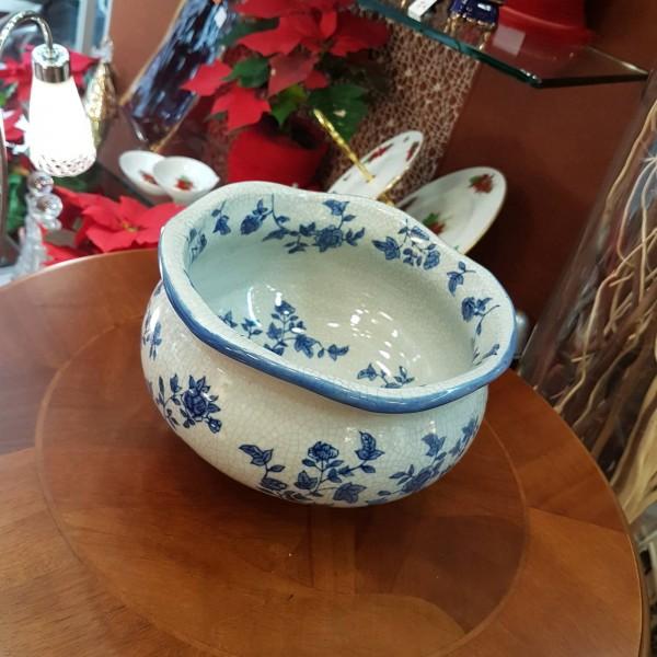 Crakle blue porcelain κασπώ