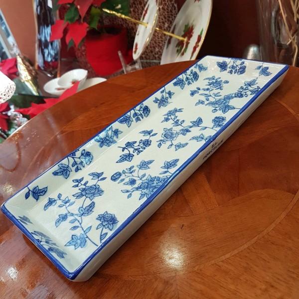 Crakle blue porcelain δισκάκι