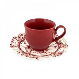 Tiffany red φλυτζάνια τσαγιού 6τεμ.