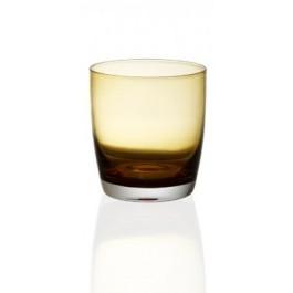 Irid amber ποτήρια ουίσκι 6τεμ.