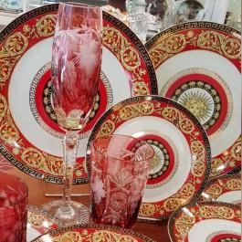 Milano Italy red σετ 20τεμ.