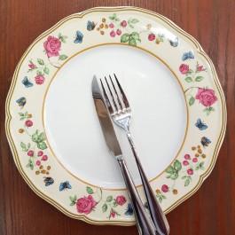 Πεταλούδες 6τεμ.ρηχά πιάτα
