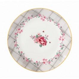 Πιάτα κέικ-γλυκών 6τεμ. Floral Paris Roses