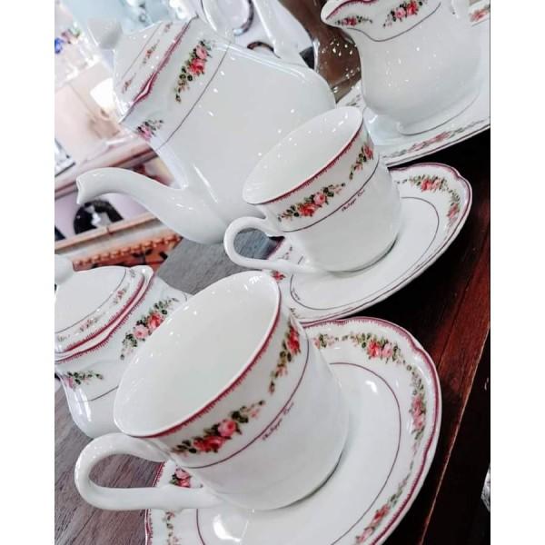 Romantica φλυτζάνια καφέ 6τεμ.
