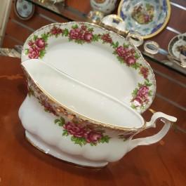 Royal Mitterteich σαλτσιέρα με πιάτο