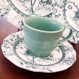 Tiffany green φλυτζάνια τσαγιού 6τεμ.