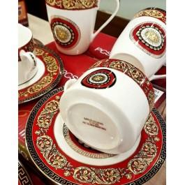 Φλυτζάνια τσαγιού σετ 6τεμ. red Milano Italy